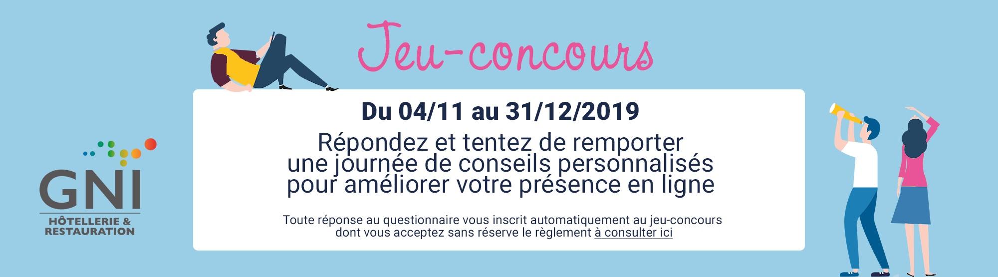 Jeu Concours 2019 Reussir Avec Le Web Gni Hcr
